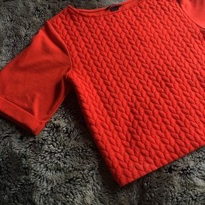 H&M Cropped Box Sweater Top, Short Sleeved
